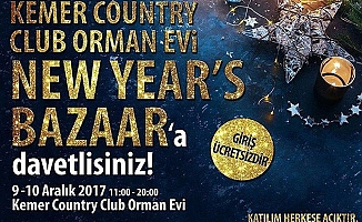 Kemer Country Club Orman Evi New Year Bazaar