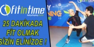 Fit in Time ile 25 dakikada fit olun!