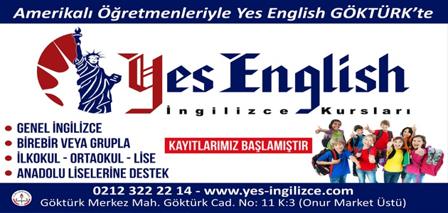 YES ENGLISH – GÖKTÜRK AÇILDI !