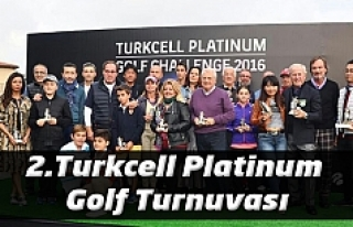 2.Turkcell Platinum Golf Turnuvası Kemer Country'de...