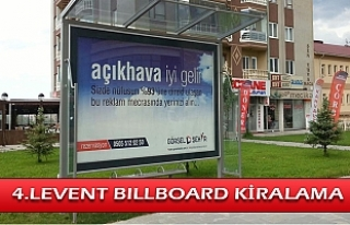4.Levent Billboard Kiralama