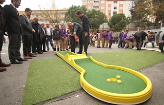 Eyüpsultan'da Mini Golf şöleni